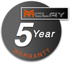 Five Year Warranty