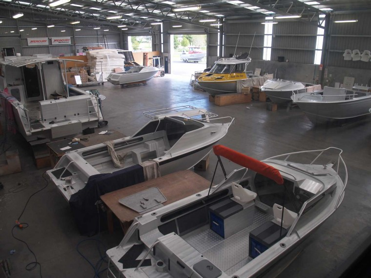 McLay Aluminium Boats Are An Export Success