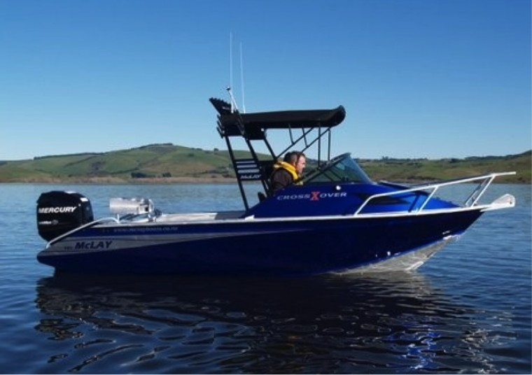 McLay Unveil's The All New CrossXover Series At The 2014 Hutchwilco NZ Boatshow