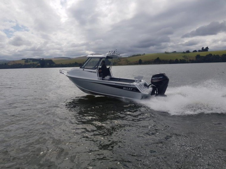 New Zealand Fishing News May 2018 - 571 Sportsman Hardtop - New Model