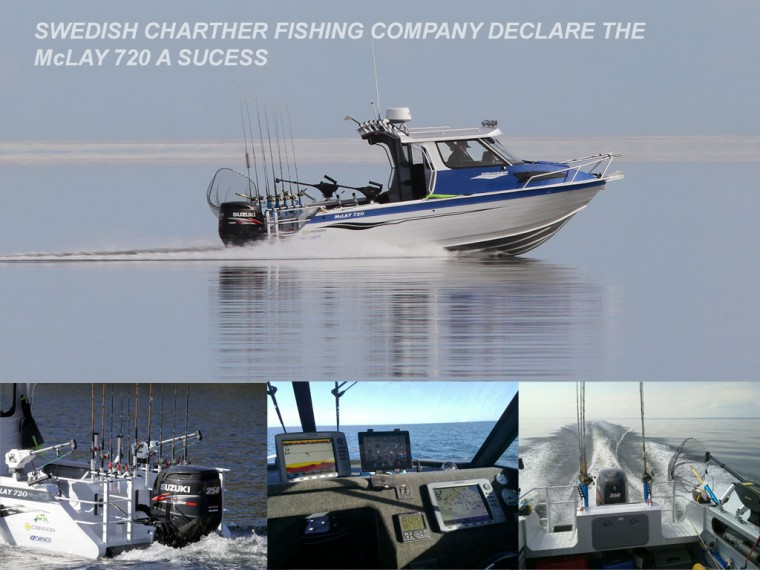 McLay 720 Aluminium Fishing Boat- A Charter Success In Sweden