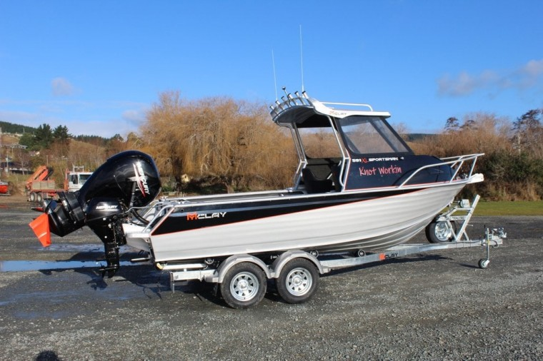 Sportsman Boat and Mercury Outboard
