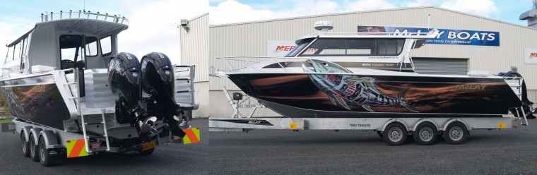 McLay Unveils the All New 931 Aluminium Fishing Boat