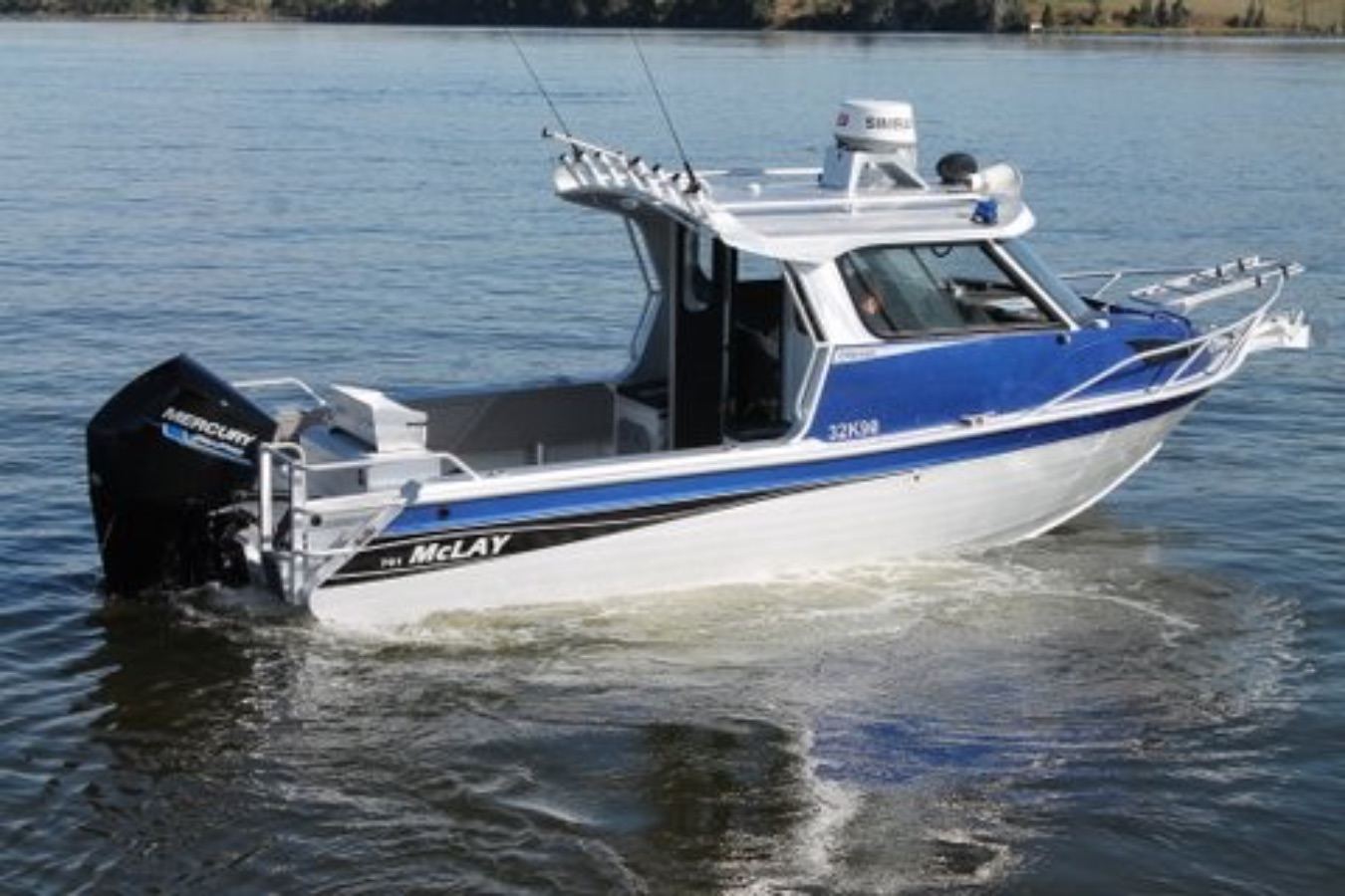 mercury outboard boats fishing